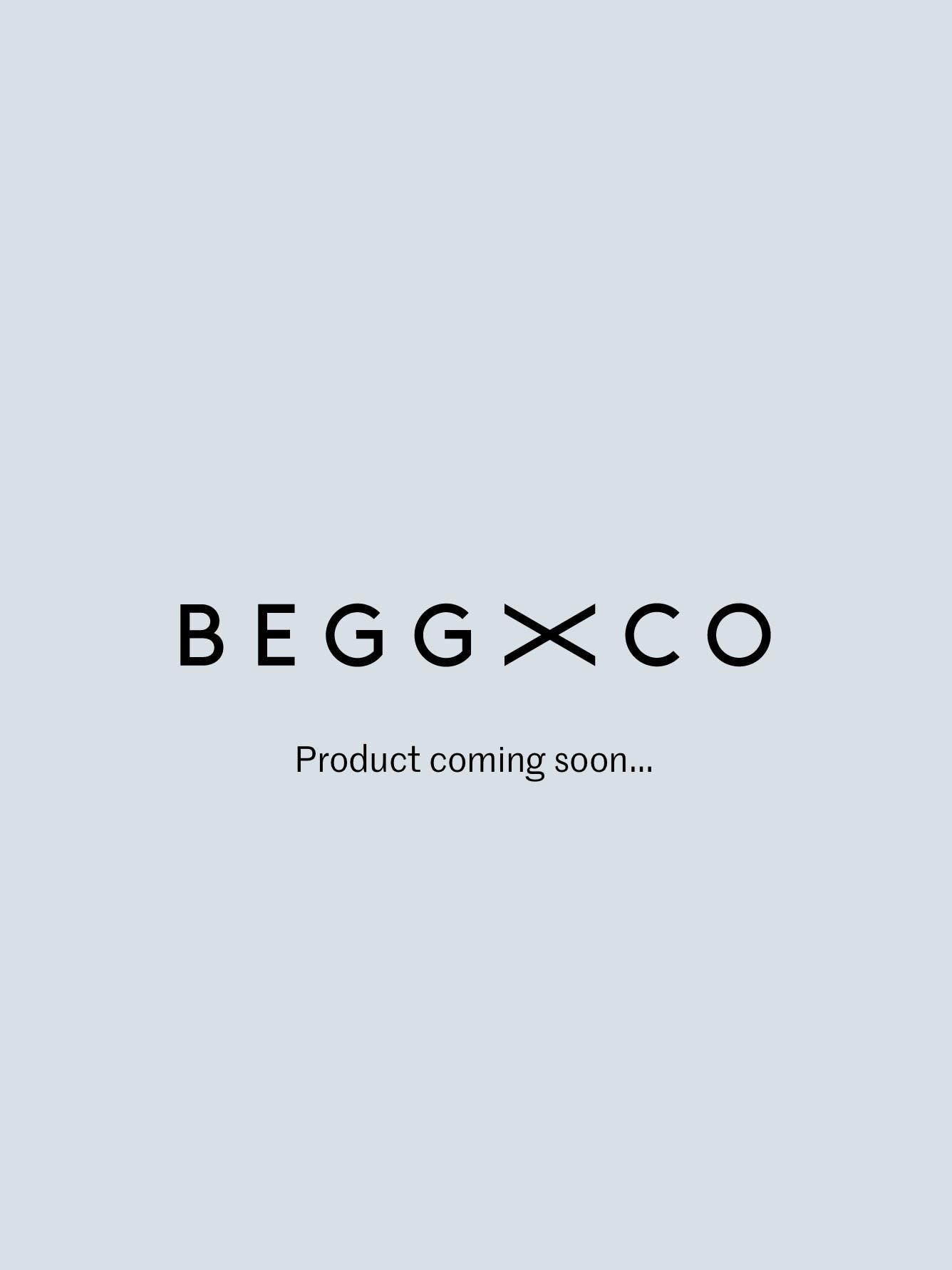Oversized Arran Cashmere Throw Flannel Grey | Begg x Co